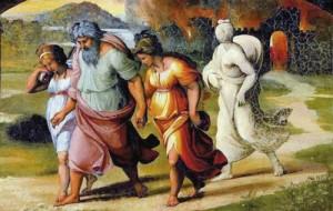 Лот с дочерьми (Содом и Гоморра)