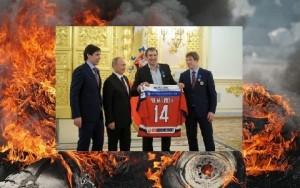 Война и хоккей