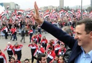 Ассад с народом