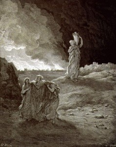 Бегство Лота из Содома