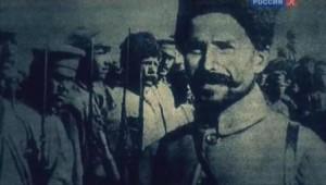 Чапаев с бойцами