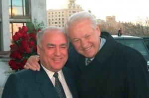Черномырдин и Ельцин