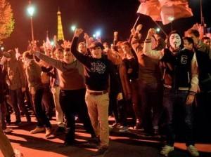 Демонстрация противников