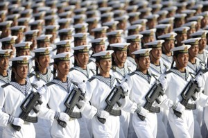 File-photo-of-members-of-the-PLA-Navy-march-in-formation-during-training-session