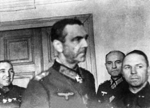 Генерал Ласкин (справа) и фельдмаршал Паулюс
