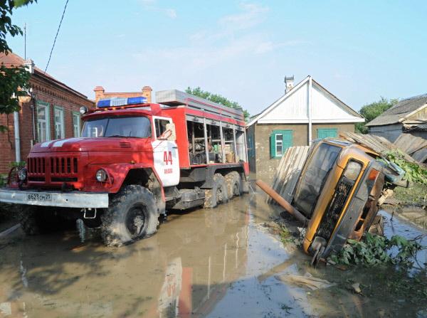 Трагедия в Крымске
