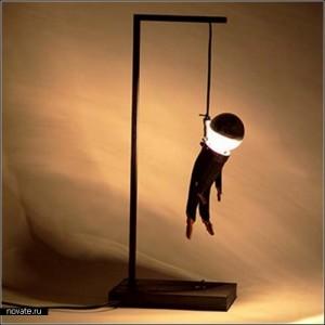 Лампа повешенного