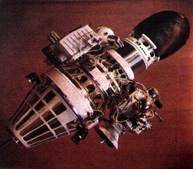 """Автоматическая межпланетная станция """"Луна-9"""""""