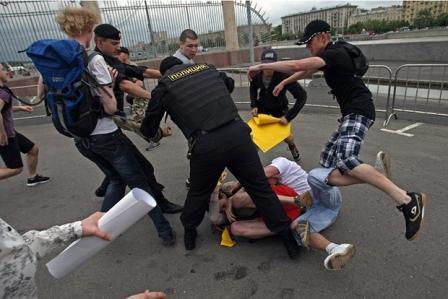Националисты против педерастов
