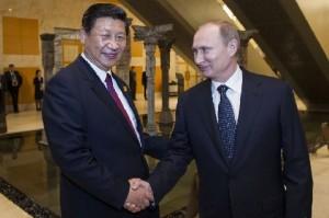 Председатель Си и Путин