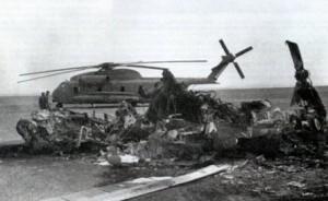 Разбитый вертолёт