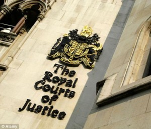 Tht Royal Courts of Justice