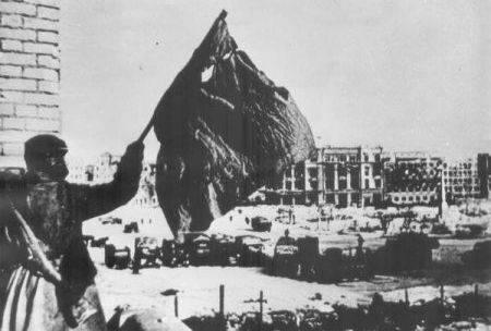 Разгром немцев под Сталинградом